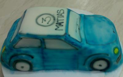 sininenauto